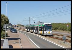 DL 6337 - Westende Belle Vue (Spoorpunt.nl) Tags: 10 juni 2017 de lijn hermelijn 6337 westende belle vue