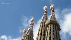 Barcelona (Graça Vargas) Tags: sagradafamília church igreja graçavargas torres ©2017graçavargasallrightsreserved barcelona espanha antonigaudí