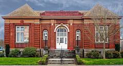 Vancouver Public Library (1909) (DL Photo) Tags: 1909 historicalsites washington carnegielibrary clarkcounty vancouverpubliclibrary