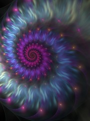 SPIRAL #4 (bloorose-thanks 4 all the faves!!) Tags: apophysis apo fractal flame spiral digital art astract