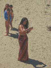 Mom!!! Not Another Selfie!... (Viejito) Tags: pismobeach california slo county usa unitedstates geotagged geo:lat=35139231 geo:lon=120643428 amerika amérique américa america canon powershot s100 canons100 waterfront beach playa praia sea pacific ocean pacificocean oceaan océan oceano brunette facial expression bracelet feather string bikini top wraparound skirt woman boy girl chubby child family barefoot descalzo scalzo descalço piedsnus bare feet dirty toes thong footwear босиком barfüssig barfüsig glamour selfie model hair shadow boots camera phone smartphone sand sunglasses