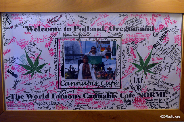World Famous Cannabis Cafe - Portland, OR - 03/03/16