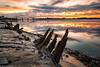 Wigg Islamd (8 of 10) (andyyoung37) Tags: merseyflatbargewrecks runcorn runcornbridge uk wiggisland cheshire rivermersey sunset