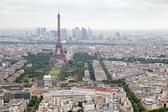 Eiffel Tower (jimj0will) Tags: eiffeltower paris aerial overlooking city cityscape skyline france europe streets