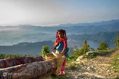 sarangkot- sunrise-38 p logo (anindya0909) Tags: nepal sarangkot sunise sunrise