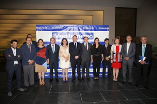 El President de la Generalitat, Ximo Puig, ha participado en la XX edición de la gala de los premios Empresa del Año. 25/05/2017