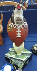 Seahawk Wood Carving (How.I.E) Tags: football nfl carve richmond bc canada twelvth player effect fan sport great awesome amazing beautiful bird hunter killer nature wildlife realistic fly jump leap takeoff lift sky flight uplift feather wing talon claw sad mean beak long head sharp point pointy spear fantastic seattle usa washington cool creative medal best courageous valiant strong bold brave tough masculine fierce magnificent alert predator skillful graceful