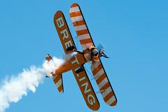 8 (somedaysooned) Tags: d800 duxford iwmduxford imperialwarmuseum iwm airshow airfestival aviation aircraft aeroplane airforce aerobaticdisplayteam airfestival2017 wingwalkers breitling