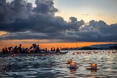 Lantern Floating Hawaii Ceremony Memorial Day 2017 13 (JUNEAU BISCUITS) Tags: lanternfloatinghawaii hawaii oahu honolulu lantern memorialday holiday alamoana alamoanabeachpark remembrance honor peace love aloha sunset ocean