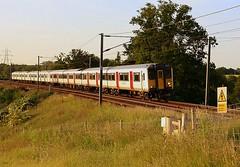Class 317 at Brantham (Chris Baines) Tags: class 317 aga emu brantham level crossing ipswich london liverpool st