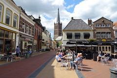 20170604 13 Steenwijk - Markt (Sjaak Kempe) Tags: 2017 zomer summer nederland niederlande netherlands sjaak kempe sony dschx60v overijssel steenwijk markt grote sint clemenskerk clemens kerk church