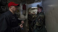 170602-N-HV059-059 (CNE CNA C6F) Tags: ussleytegulfcg55 sailors ships usnavy training cbrdrill gasmasks