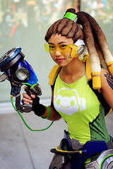Lucio genderbend (friesofthecouch) Tags: fanime overwatch 2017 lucio cosplay