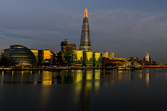 The South Side (George Plakides) Tags: shard south river thames ship belfast