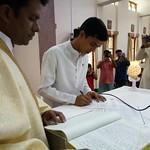 Novizi e Professi della Provincia indiana