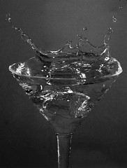 Splash (TB IMAGES) Tags: canon 50d glass splash liquid bw monochrome blackandwhite