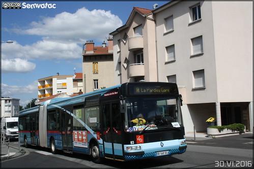 Renault Agora L - T2C (Transports en Commun Clermontois) n°83