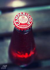 Camparisoda (sunrise25) Tags: camparisoda campari soda flasche kronkorken bottle bitter rot red drink sony alpha sonyalpha5000 sony5000 minolta rokkor minoltarokkor 50mm macro makro
