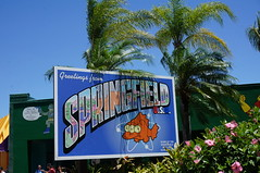 """Universal Studios, Florida: Springfield Sign • <a style=""""font-size:0.8em;"""" href=""""http://www.flickr.com/photos/28558260@N04/34587954552/"""" target=""""_blank"""">View on Flickr</a>"""