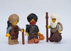 The Jewel Merchants (W. Navarre) Tags: minifigs minifigure lego mask figs fig jewel merchants