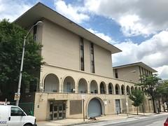 Peabody Institute Residence Halls (1968, Edward Durell Stone), 20 E. Centre Street, Baltimore, MD 21202 (Baltimore Heritage) Tags: baltimore maryland mountvernon centrestreet educationalbuilding dormitory edwarddurellstone modernism