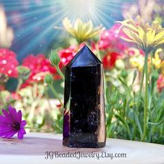 Dark Smoky Quartz Crystal (JG Beaded Jewelry) Tags: crystals smokyquartz smokeyquartz naturalcrystals healingcrystals