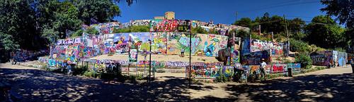 Graffiti Park at Castle Hills, Austin
