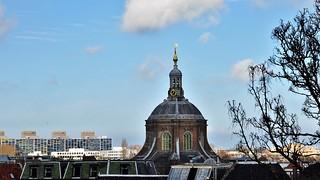 Uitzicht / view over Leiden