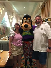 "Tracey, Scott and Goofy • <a style=""font-size:0.8em;"" href=""http://www.flickr.com/photos/28558260@N04/34654719442/"" target=""_blank"">View on Flickr</a>"