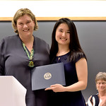 Professor Nicole Allen, Qianqi Song, Department of Psychology Diversity Award