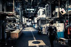 tsukiji fish market before closing (N.sino) Tags: m9 summilux50mm tsukijifishmarket tsukiji fishmarket 築地 築地市場 中島 カネハツ
