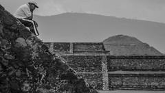 (C-47 [On the move]) Tags: mexico people blackwhite dof sadness sad noirblanc noiretblanc blackandwhite architecture archeology stone stonework mood atmosphere mono portait