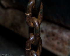 Rusting Links (that_damn_duck) Tags: rust links chain industrial chainlinks