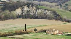 Sulla Via Francigena in Toscana (Jambo Jambo) Tags: fattoria farm campagna countryside panorama landscape colline hills collinesenesi buonconvento siena toscana tuscany italia italy sonydscrx100 jambojambo