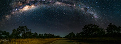 NT Astro Arch (Laith Stevens Photography) Tags: panorama pano olympus omd olympusinspired outdoor olympusomd olympusau olympusaustralia omdem1 omdem1mkii stars astro milky way goneawol getolympus 714mm f28pro nt australia outdoors outback night galaxy milkyway arch