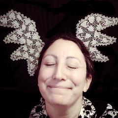 Heavenly / 126.365 (sadandbeautiful (Sarah)) Tags: me woman female self selfportrait 365daysx8 365days day126 crochetwings