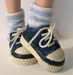 Powder Blue Short Socks...For Blythe