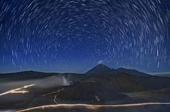 s 2017 May20_BromoStarTrails (Andrew JK Tan) Tags: 2017 bromo nightsky semeru volcano volcanic traffic trails seaofsand mist