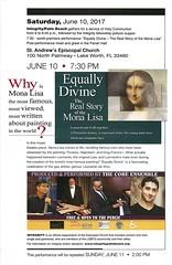 Equally Divine (LarryJay99 ) Tags: musictheater monalisa leonardodavinci play integrity standrews coreensemble gay integritypalmbeach