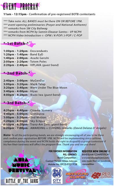 Asia Music Fest POSTER 2