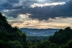 Las Caldas, Oviedo (ccc.39) Tags: asturias oviedo lascaldas paisaje árboles nubes nuboso sunset atardecer ocaso senda