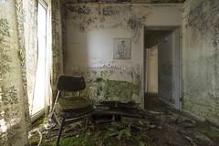 . (Dawid Rajtak) Tags: decay abandoned room hotel lost rotten verlassen nikkor1424f2 nohdr krzesło chair