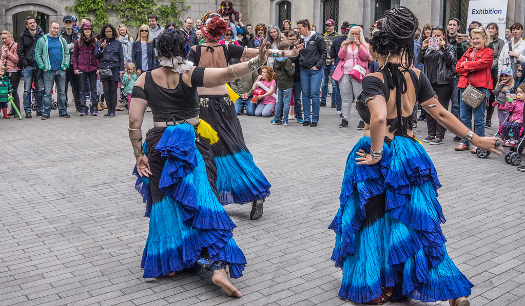 The Zoryanna Dance Troupe Tribal Belly Dancing [Africa Day 2017 Dublin]-129044