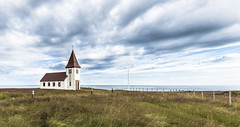 Churchscape (kewlscrn) Tags: church churchscape landscape remo bivetti kewlscrn nikon d800 iceland island seascape landschaft waterscape grad kirche gras grass clouds blue strong f90 24mm 1320 iso100 hellnar lonlyness lonliness wonderful moode photography travel composition leadingline snæfellsoghnappadalssýsla snæfells hnappadalssýsla architecture blech