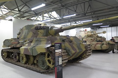 King Tiger (inuitmonster) Tags: tanks bovington bovingtontankmuseum secondworldwar kingtiger