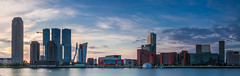 Nice Panoramic of the tallest Bulding in Rotterdam (BrownyNL) Tags: kopvanzuid rotterdam landscape landschap europa city europe netherlands zuidholland stad landmarkphotographynl skyline nederland sunset
