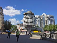 Salute Hotel, Kiev (rob.brink) Tags: ukrain eastern europe kiev kyiv city urban ukraine oekraine salute hotel brutalism architecture