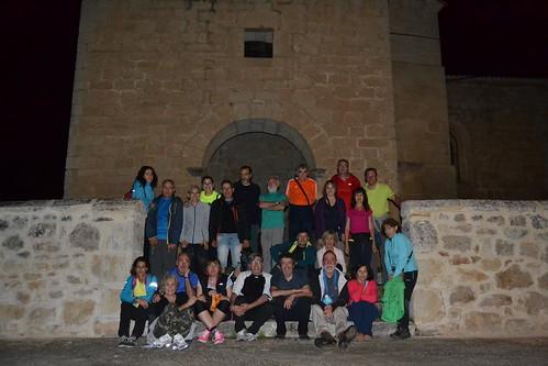 Marcha nocturna de Senderismo por Burgos Fotografia Maria Jesus (8)