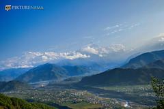 sarangkot- sunrise-42 p logo (anindya0909) Tags: nepal sarangkot sunise sunrise