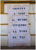 Imagine (maryaben) Tags: imagine paz peace manualidad ganchillo crochet